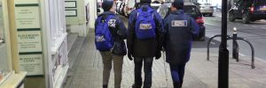 Volunteer Street Pastors on Patrol
